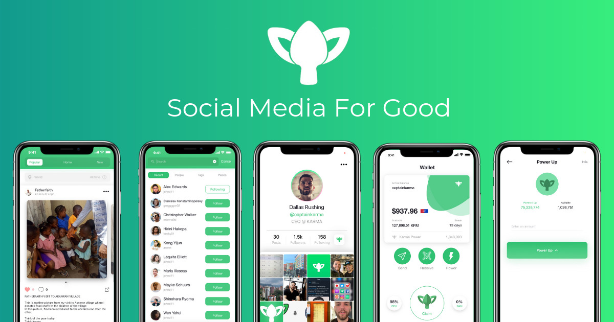 KARMA - Social Media For Good