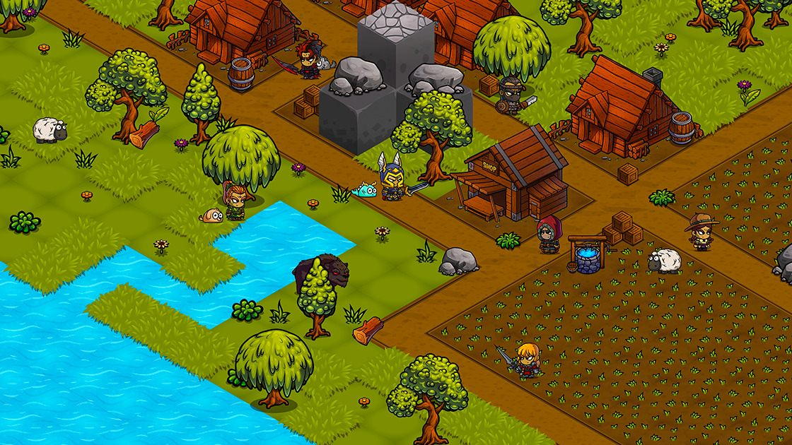 Kingdoms Beyond - Open World MMORPG that puts its players first