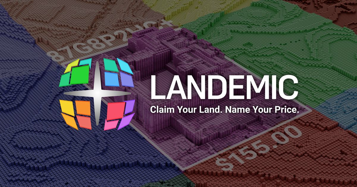 Landemic - Virtual land. Real value.