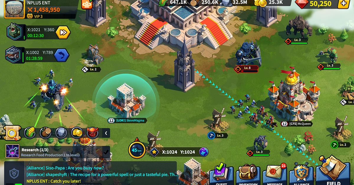 League of Kingdoms - Full feature fantasy MMO strategy game