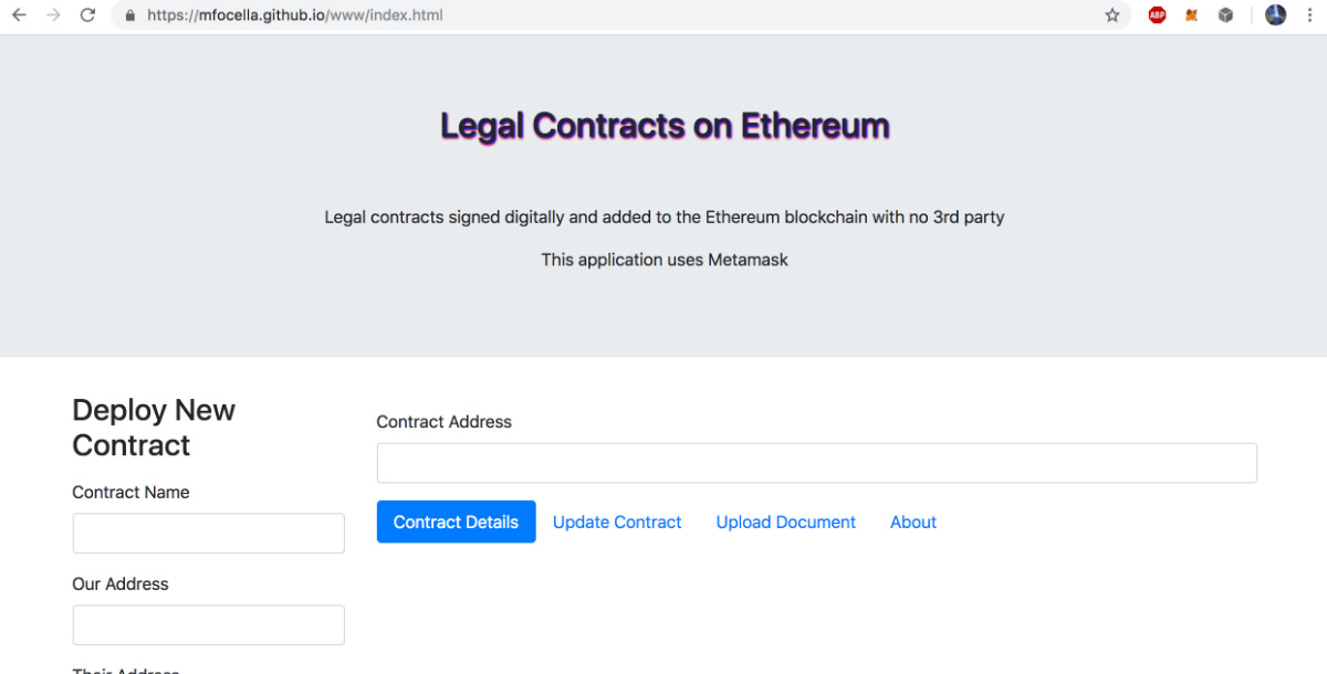 LegalContracts - Sign legal contract no third party