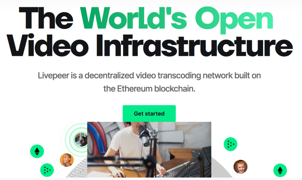 Livepeer - Decentralized video transcoding network