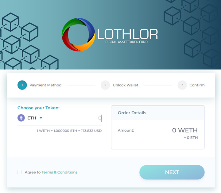 Lothlor Token Fund - A digital asset token fund