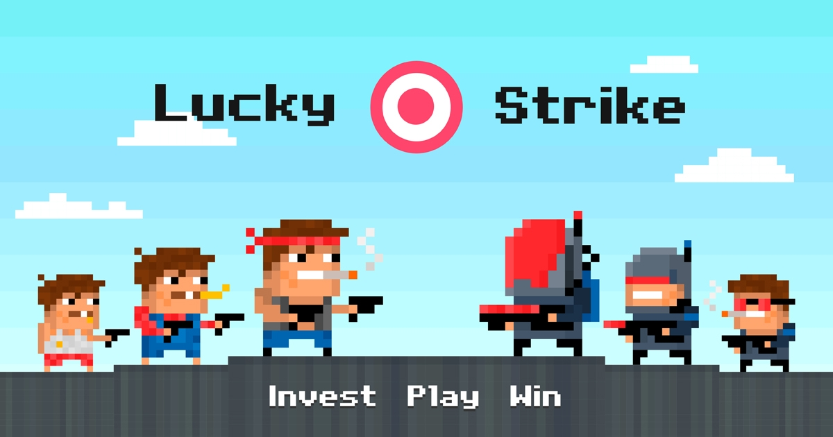 Lucky Strike - Gambling without the gamble. Invest. Play. Win.
