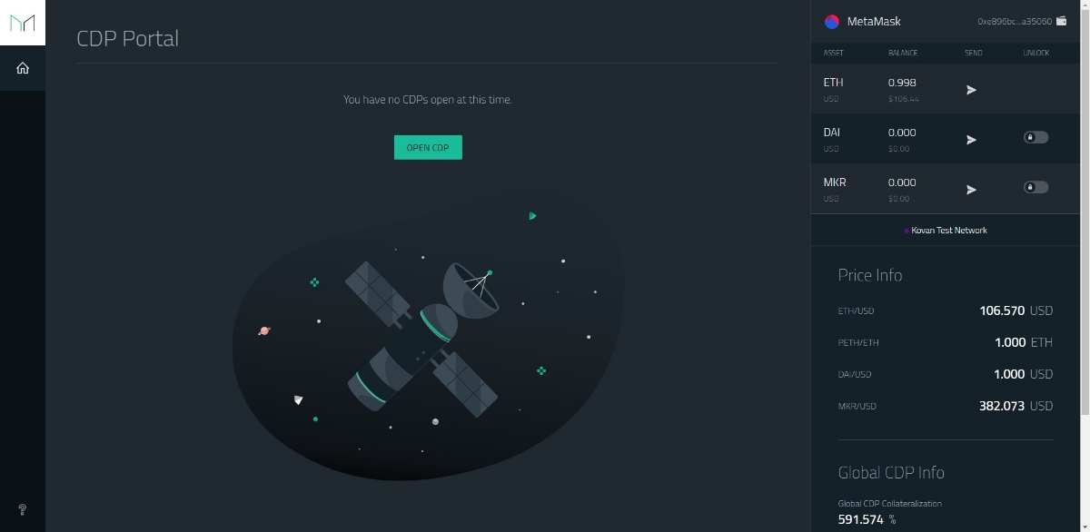 MakerDAO - Where you can interact with the Dai Credit System