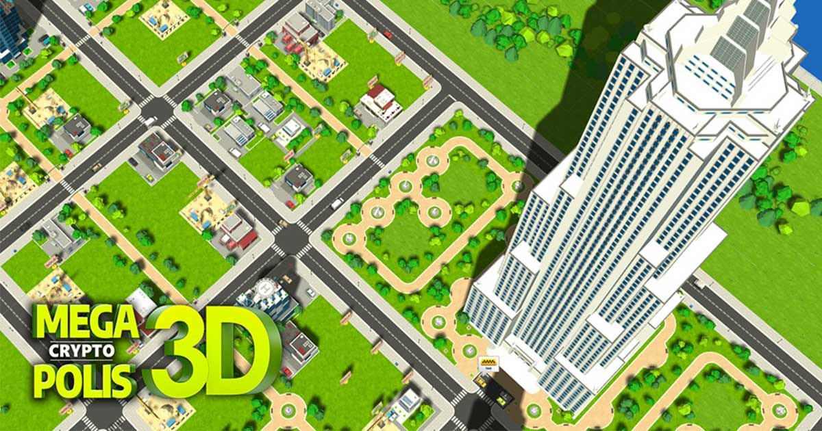 MegaCryptoPolis 3D - City builder strategy game