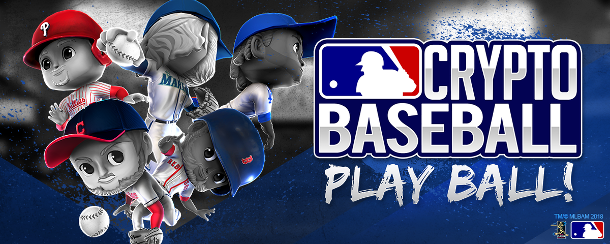 MLB Crypto Baseball - Baseball collectible game