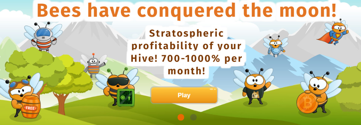 MoonHives - MoonHives is a beehive simulator 700-1000% a month