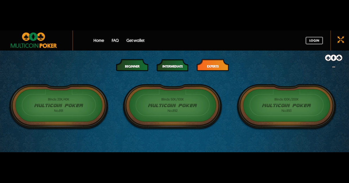 Multicoin Poker - Play Poker with multiple cryptocurrencies