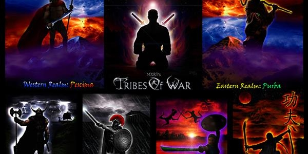 MXRT Tribes of War - A martial arts collectibles game for everyone