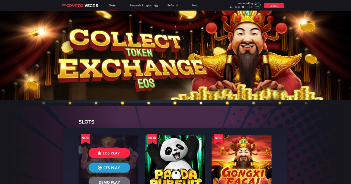 myCryptoVegas - Quality Crypto Casino