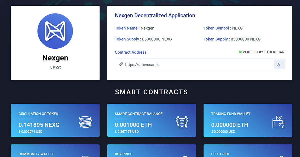 NEXGEN - The World's First Most Sustainable Application