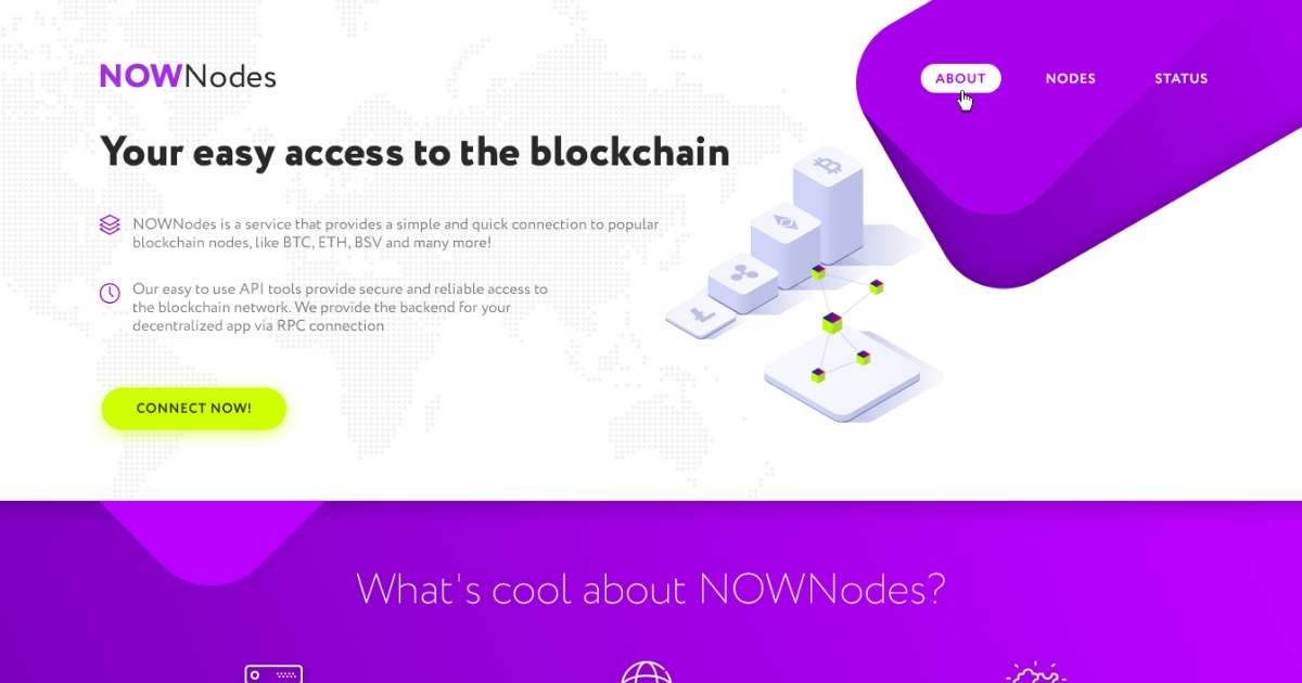 NOWNodes - Get fee-free access to major blockchains' nodes!