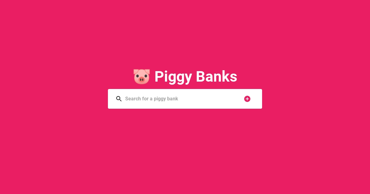 PiggyBanks - Create piggy banks on Ethereum!
