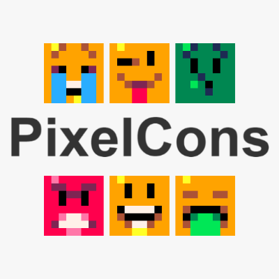 PixelCons — Minimalist pixel art tokens to collect