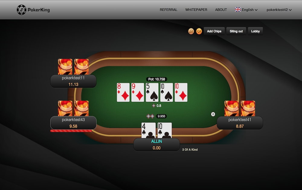 PokerKing-Texas Holdem - Texas Hold'em gaming platform
