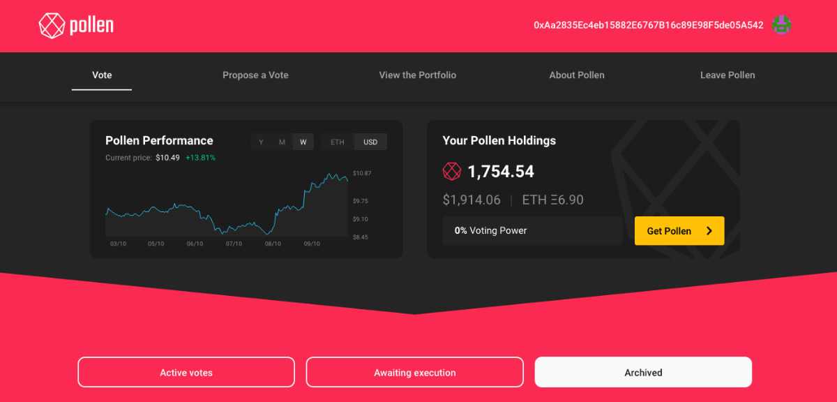 Pollen - DeFi Governance, Asset Pools and Liquidity