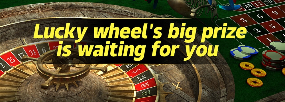 Roulette — Lucky wheel's big prize is waiting for you
