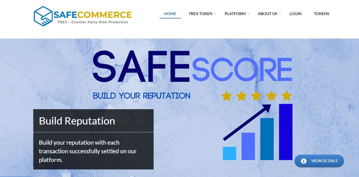 SafeCommerce - Trustless reputation escrow Xchange