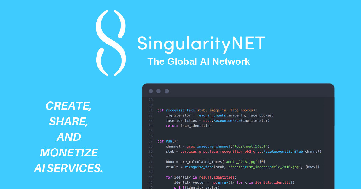 SingularityNET - The global AI network