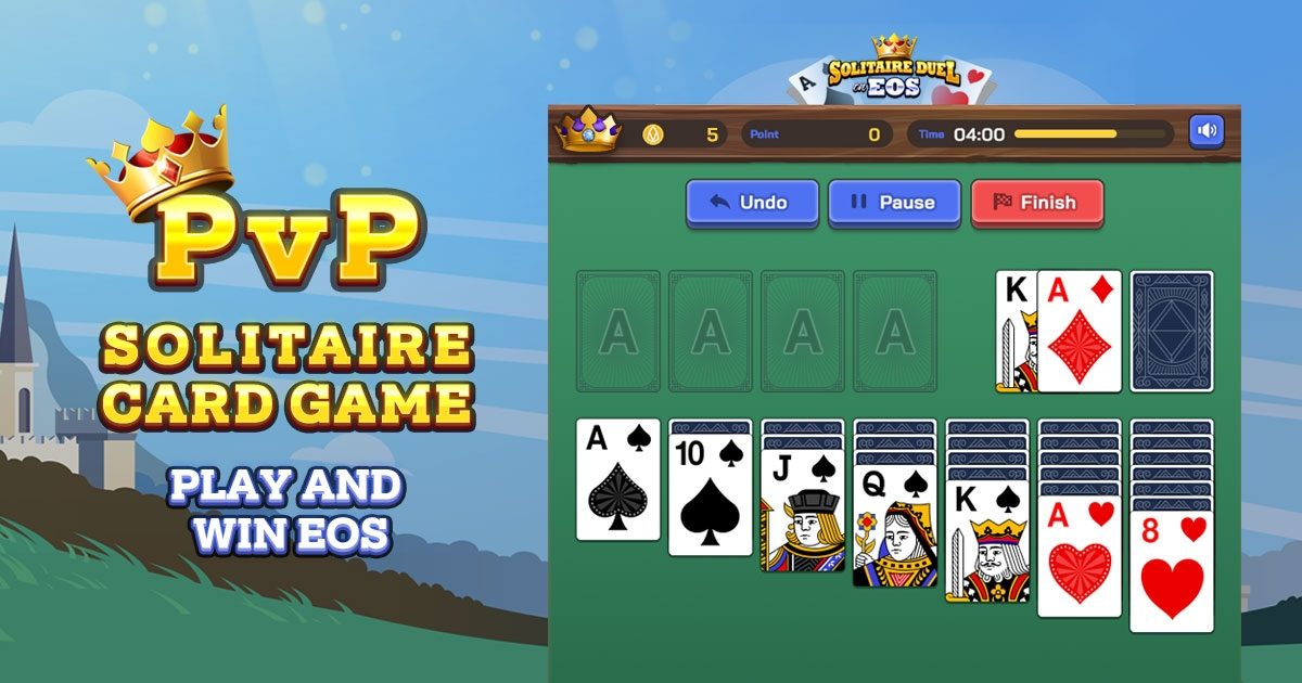 Solitaire Duel - PvP Klondike Solitaire  with EOS Prize