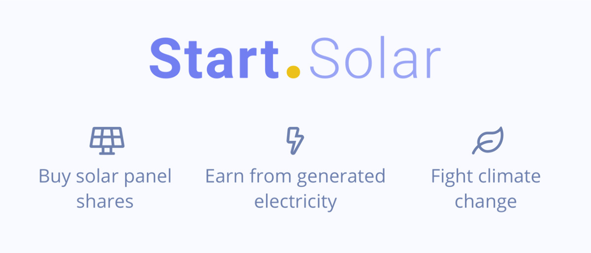 Start Solar - Earn from owning solar panels
