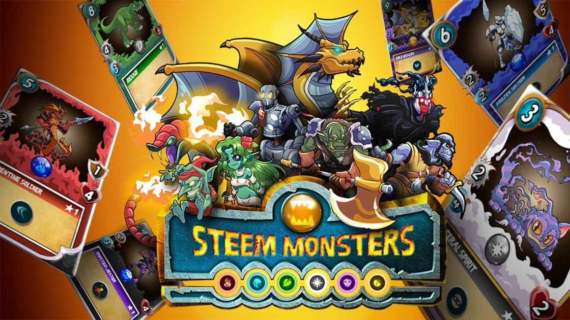 Steem Monsters - Collectible trading card game