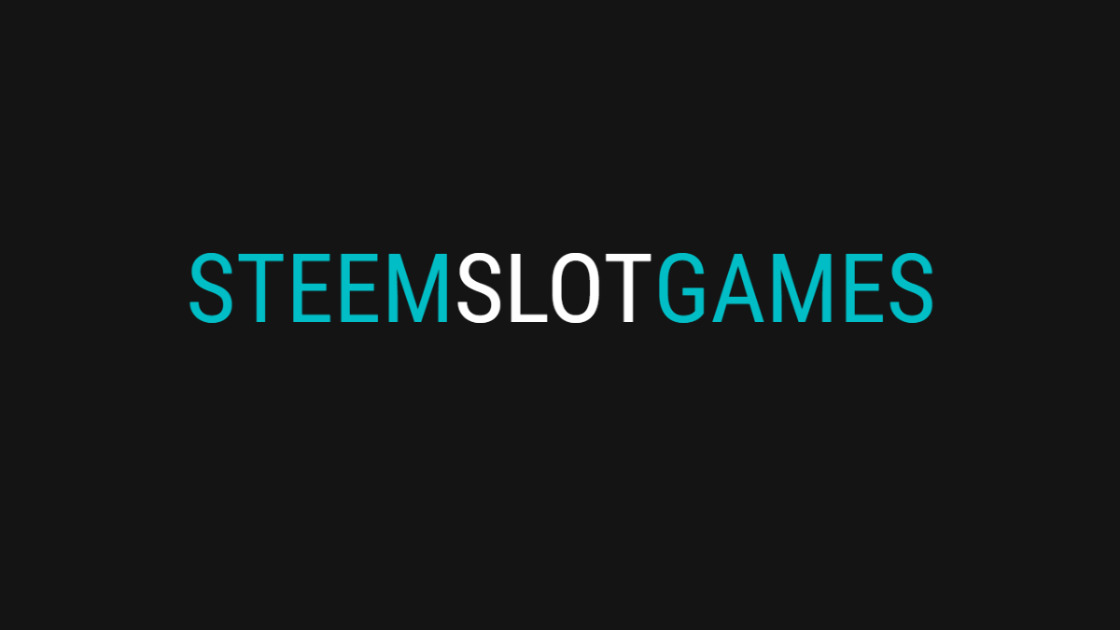 Steem Slot Games - Casino Games Platform on Top Of Steem