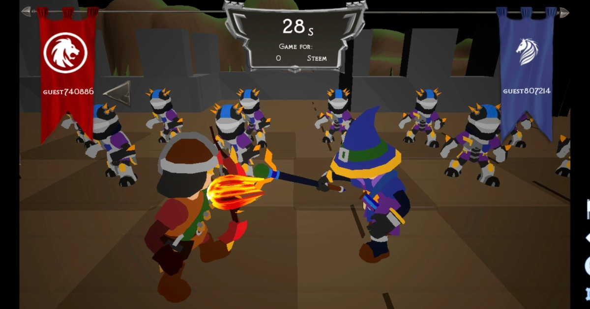 SteemKnights - First 3d mobile Game on Steem
