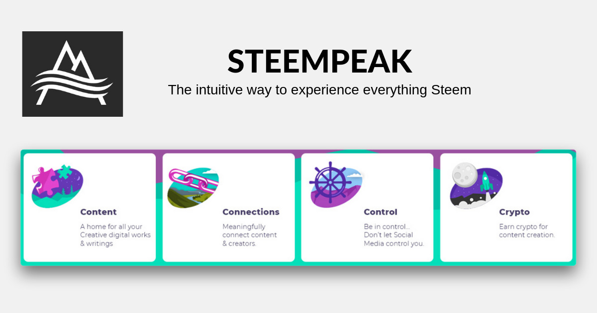 SteemPeak - The intuitive way to experience everything Steem