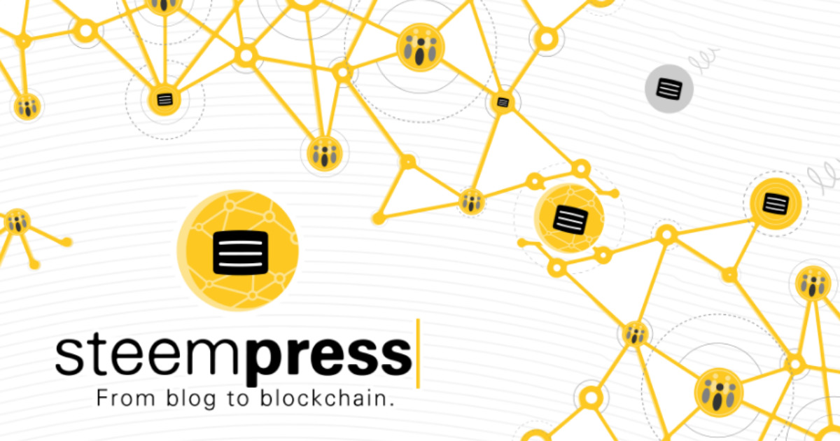 SteemPress - From blog to blockchain - Wordpress plugin