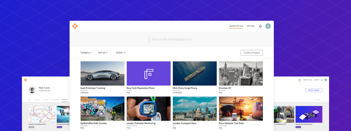 Streamr Marketplace - A storefront for the world's data streams.