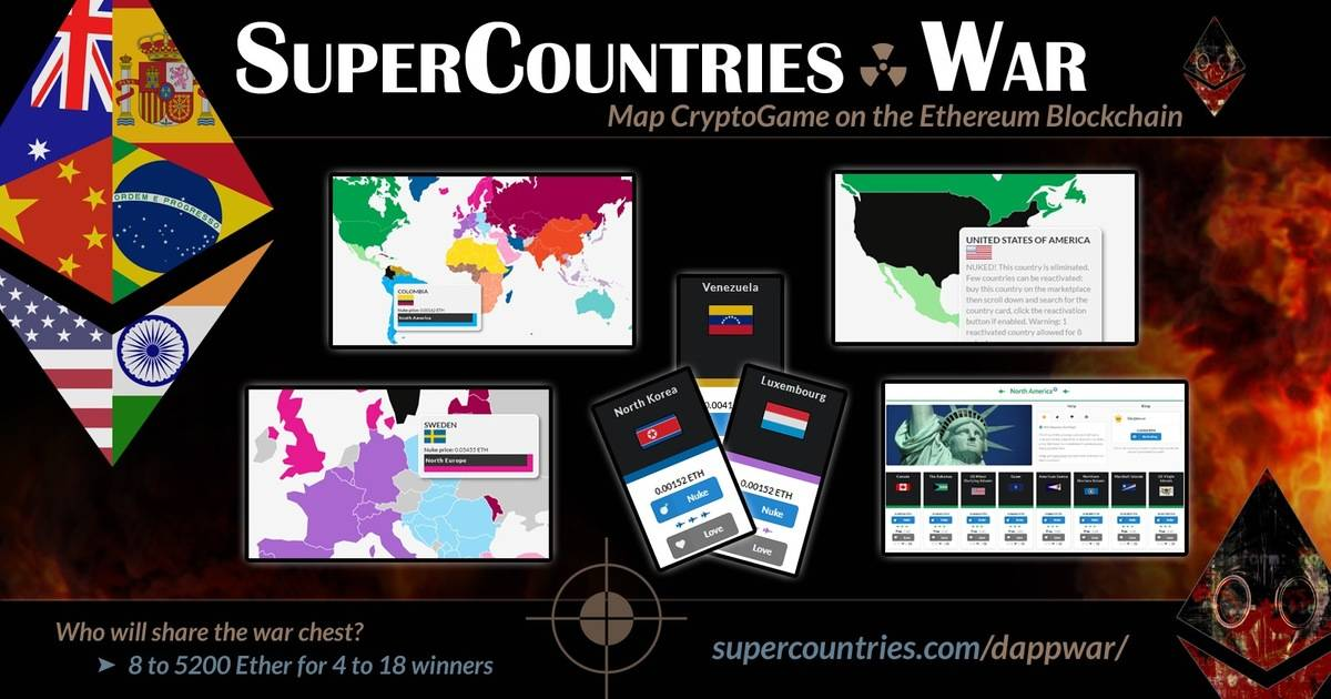 SuperCountries - Map game with lifetime rewards