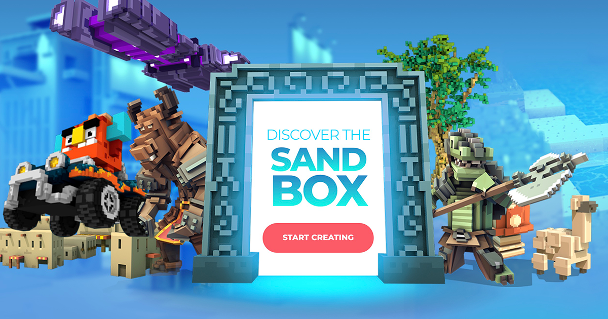 The Sandbox - The First Gaming Platform Made By Players