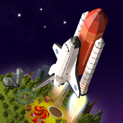 To the Moon EOS — City-building tycoon game