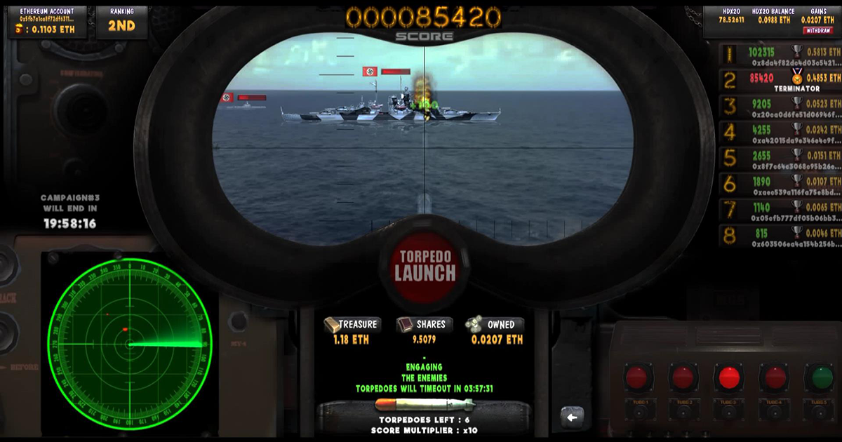 Torpedo LAUNCH - A featured skill-based Submarine arcade Game
