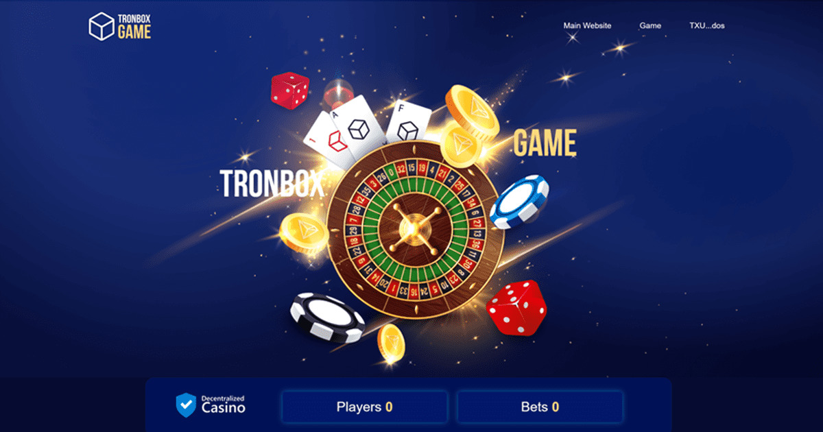 TronBox Game - TronBox is a decentralized gambling project