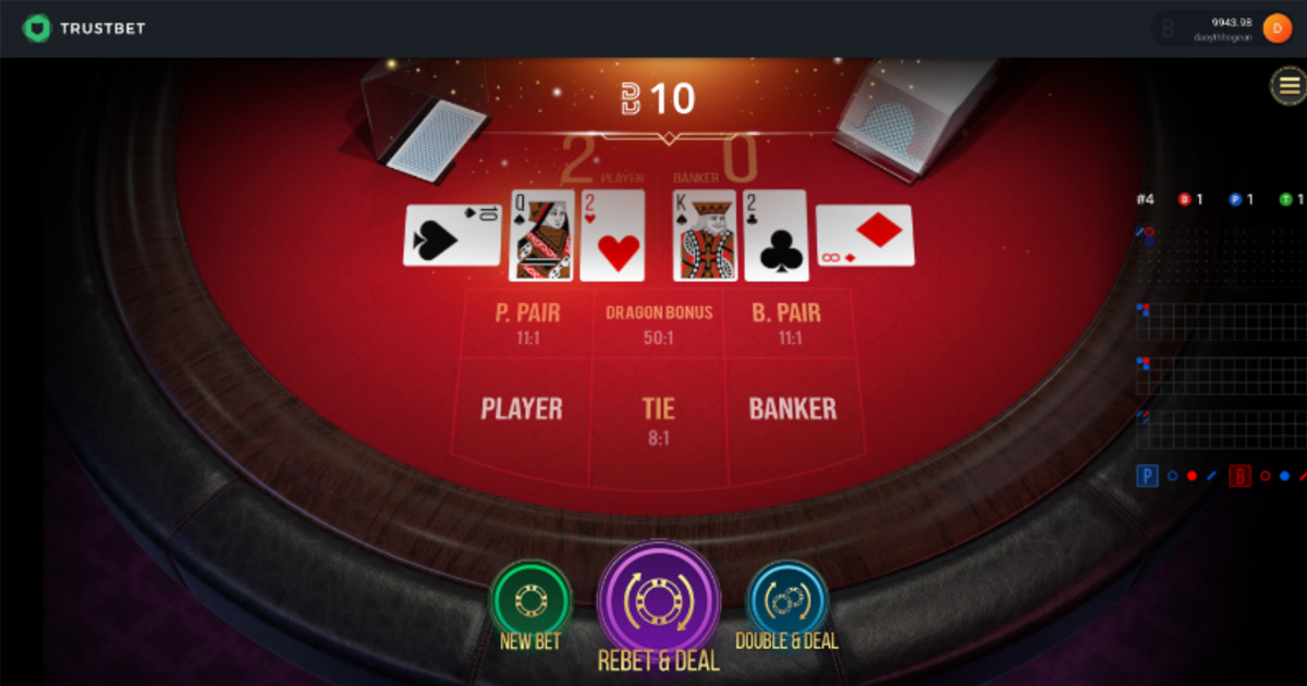 Trustbet - The Only 100% On-Chain Casino