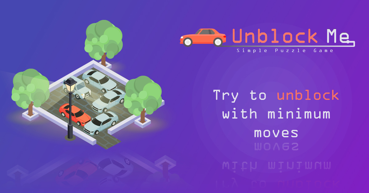 UnblockMe - Try to unblock with minimum moves