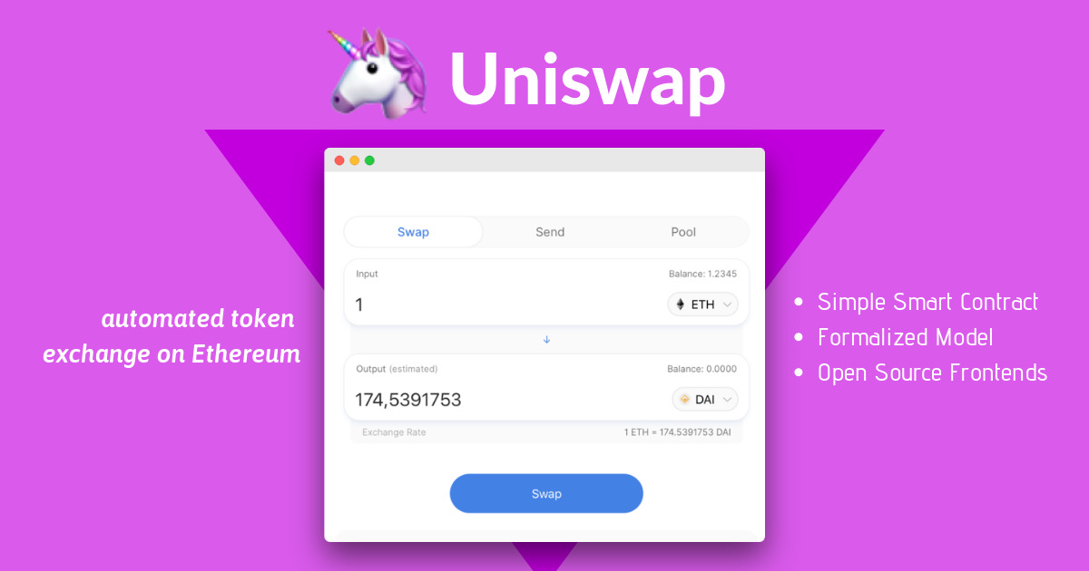 Uniswap - Protocol for automated token exchange
