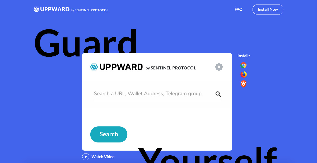 UPPward - Security search engine tools at your fingertips.