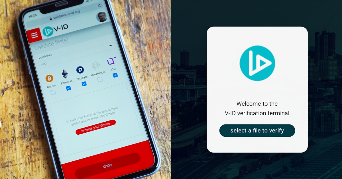V-ID - Certify and secure all digital assets