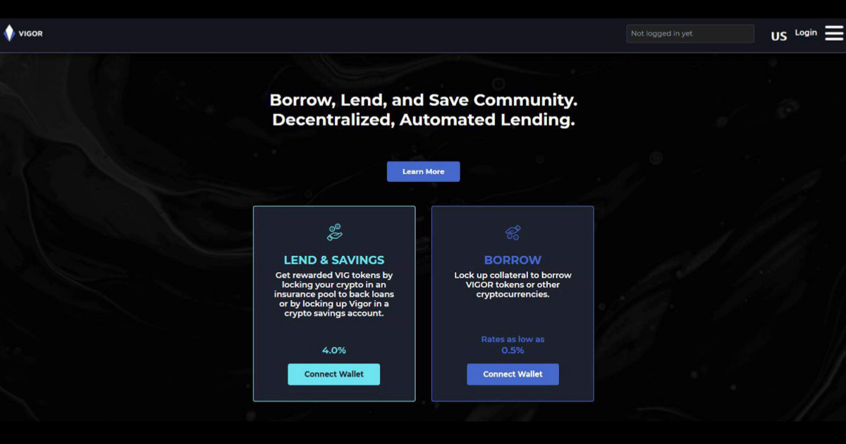 VIGOR - Borrow, lend, and save with VIGOR protocol