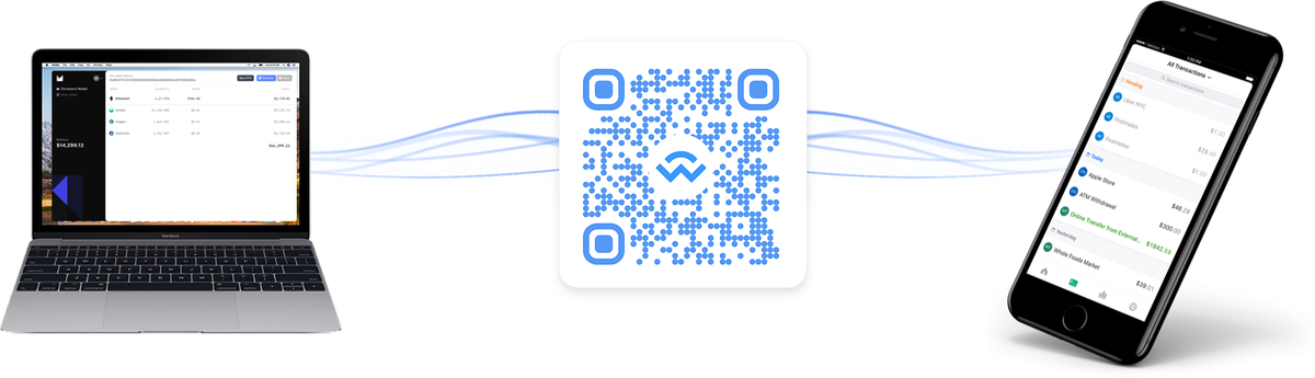 WalletConnect - An open source standard to connect desktop Dapps to mobile Wallets