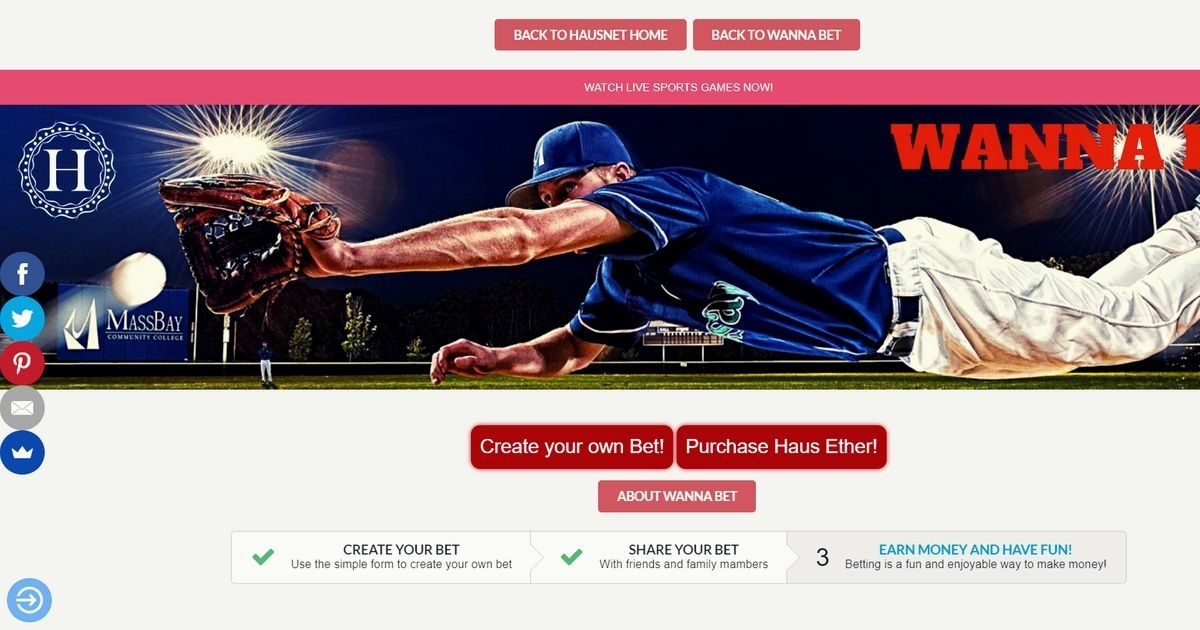 Wanna Bet? - An exciting social and sports betting platform