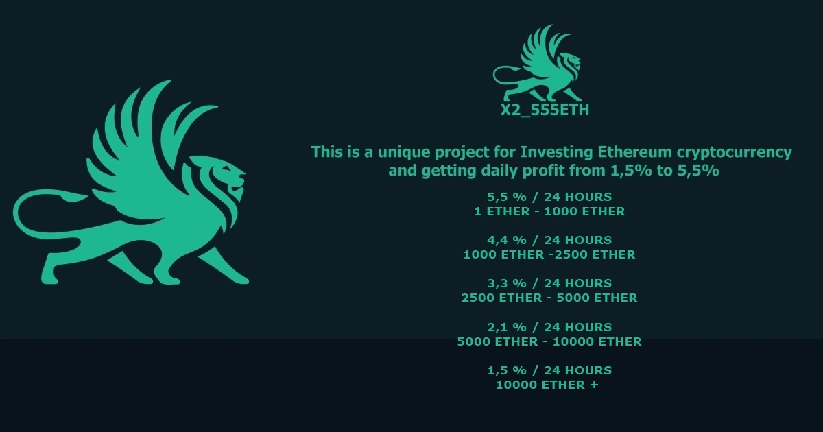X_555ETH - Getting daily profit from 1,5